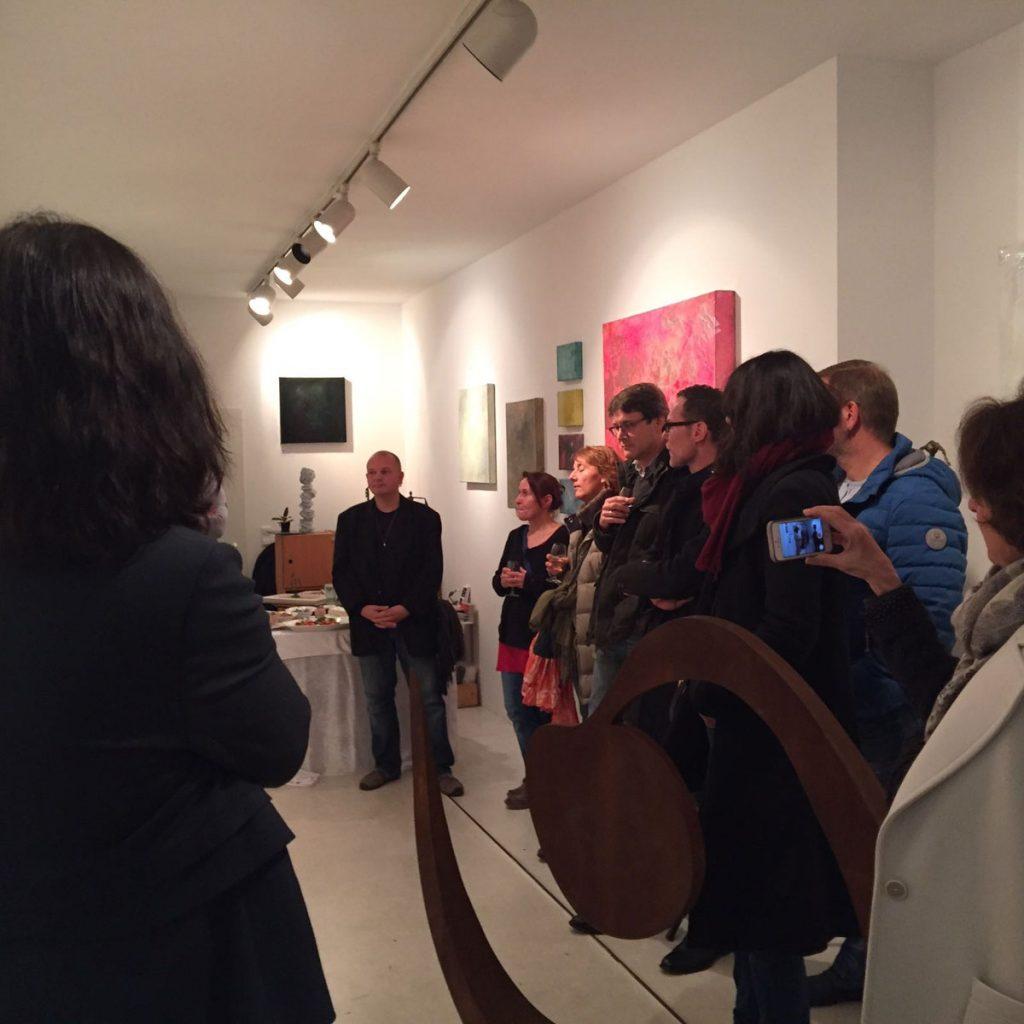Ausstellung galerie luzia sassen