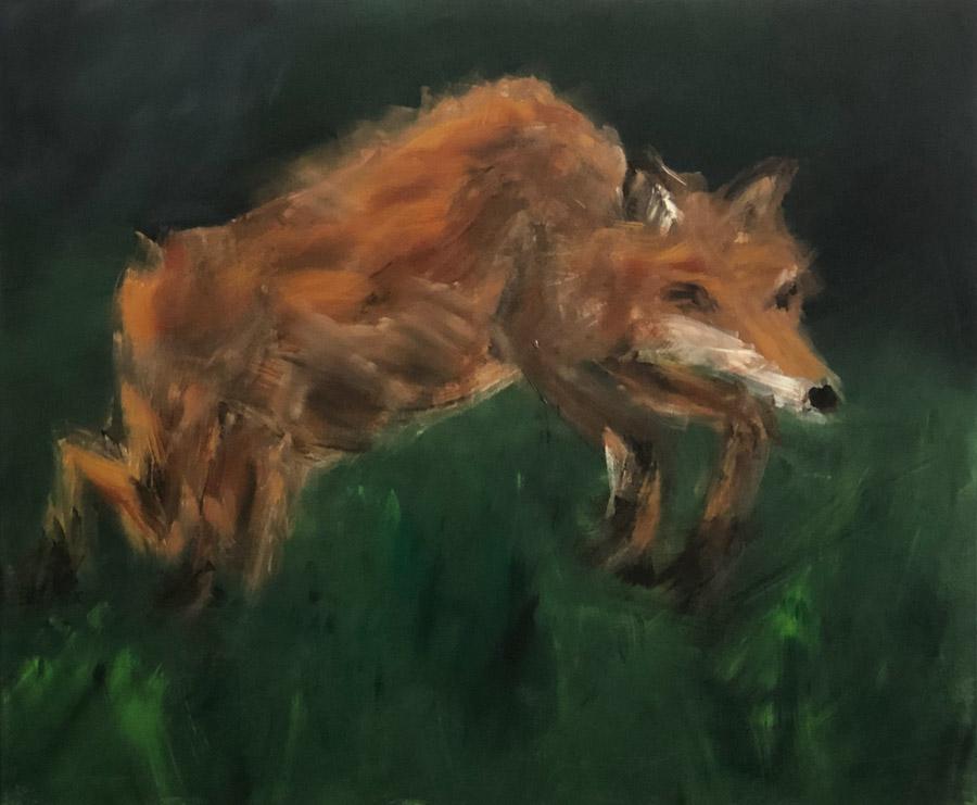 Jagender Fuchs 2021